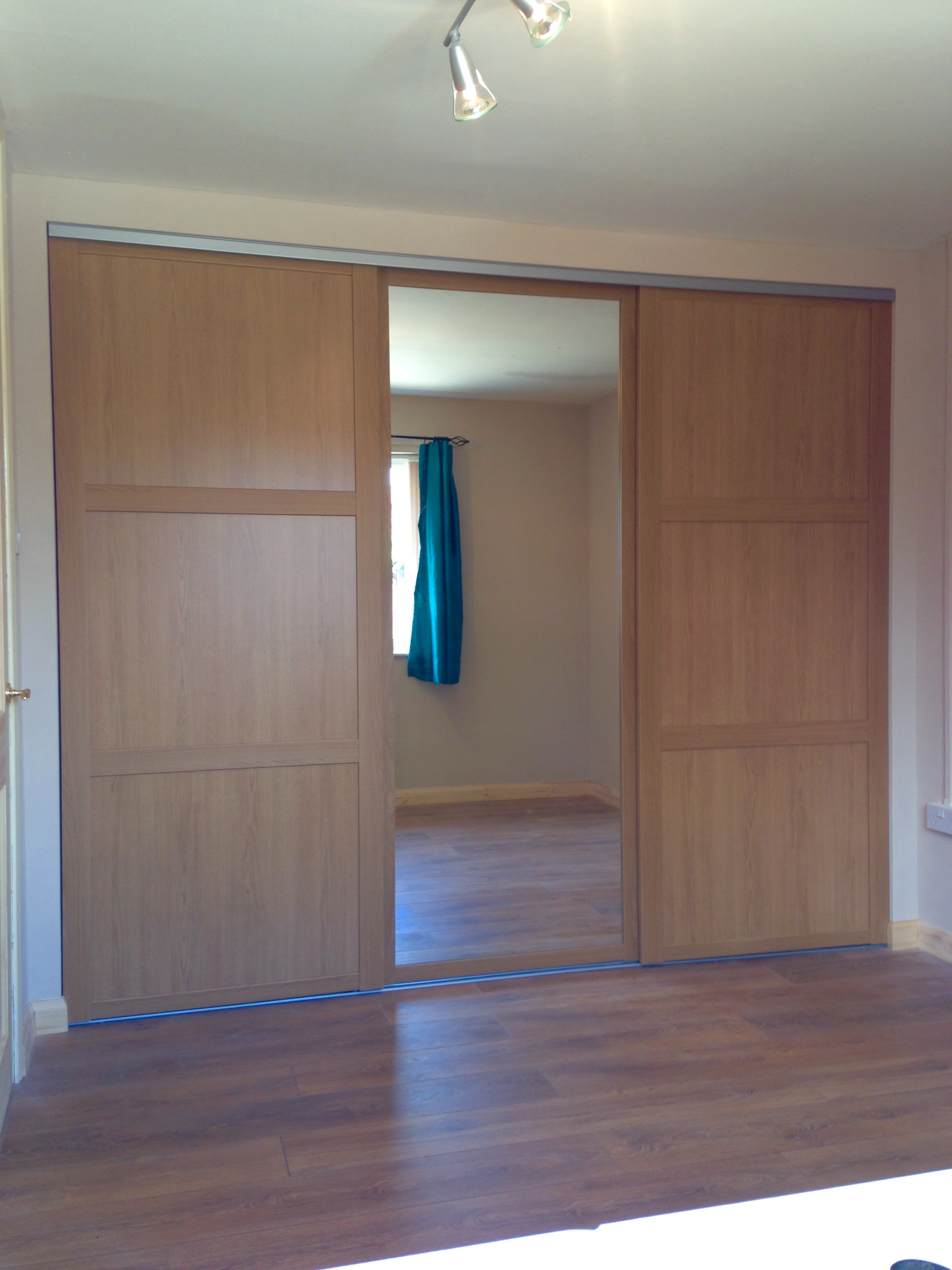 Oak Shaker Fitted Wardrobes Bishops Cleeve